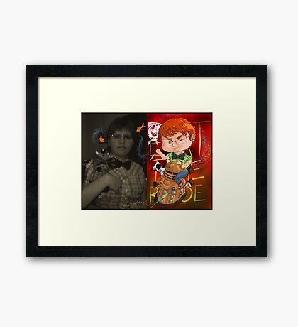 Chibi myself Framed Print