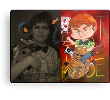 Chibi myself Metal Print