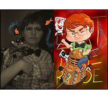 Chibi myself Photographic Print
