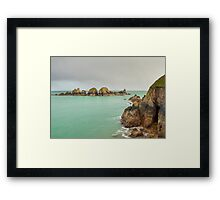 Coastal scene on Sark  Framed Print