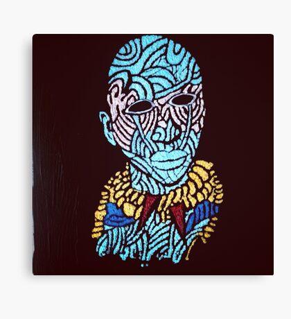 Face Paint Canvas Print