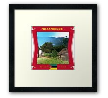 Mozambique - The Land Of The Swahali  Framed Print