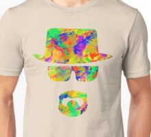 Portrait of Walter White aka Heisenberg Unisex T-Shirt