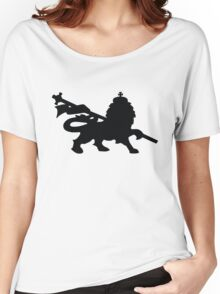 rasta lion judah dub Women's Relaxed Fit T-Shirt