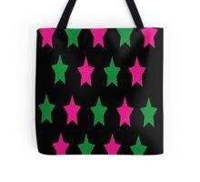 Neon Star Tote Bag
