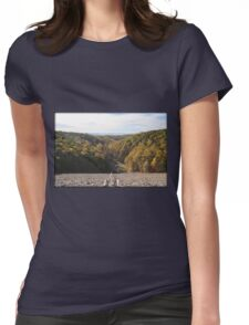 Color Gorge Womens Fitted T-Shirt