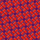 Stagger Tiles Pattern by PETER GROSS