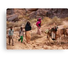 Turaeg Nomads Canvas Print