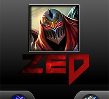 Zed Incoming Call League of Legends by Jeroen909