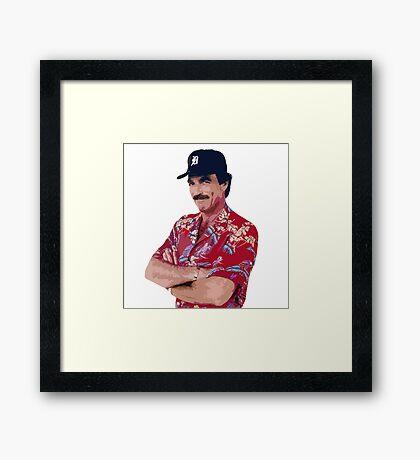 Magnum PI Framed Print