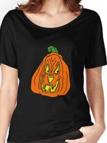 Scary Pumpkin Women's Relaxed Fit T-Shirt