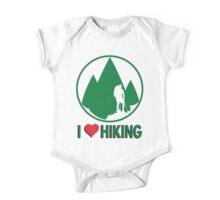 I Love Hiking One Piece - Short Sleeve