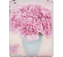 A beautiful bouquet of mauve Carnations iPad Case/Skin