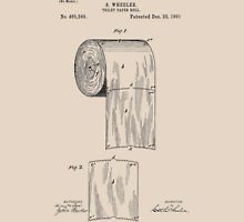 Toilet Paper Roll Patent 1891 T-Shirt