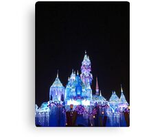 Christmas at the Castle Canvas Print
