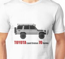 TOYOTA Land Cruiser 70 Series HZJ77 (Custom) Unisex T-Shirt