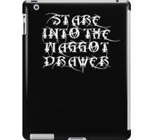 Stare into the Maggot Drawer iPad Case/Skin