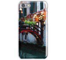 Impressions Of Venice - the Charming Christmassy Bridge Up Close iPhone Case/Skin