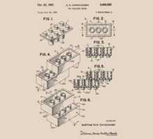 Lego Toy Building Brick Patent  by chris2766