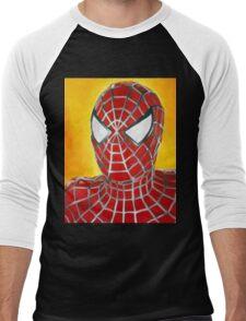 Ultimate Spiderman! Men's Baseball ¾ T-Shirt