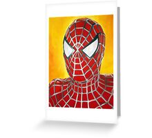 Ultimate Spiderman! Greeting Card