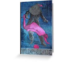 The Mars Volta Birdman Greeting Card