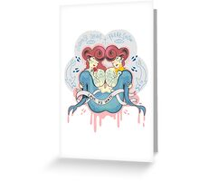 Siamese dream Greeting Card