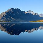 St. Mary Lake by Chaney Swiney