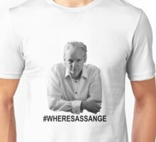 #WheresAssange? Unisex T-Shirt