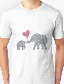 Elephant Hugs Unisex T-Shirt