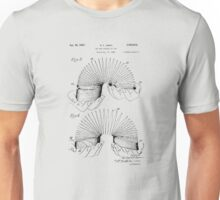 Patent for Slinky  Unisex T-Shirt