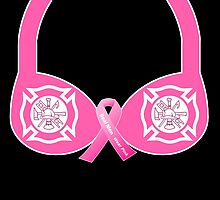 Firefighter Breast Cancer Awareness by MamaMiaDesign