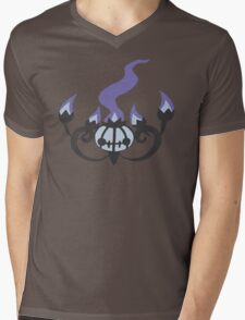 Chandelure Minimalist Mens V-Neck T-Shirt