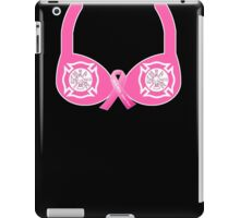 Firefighter Breast Cancer Awareness iPad Case/Skin
