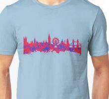 Watercolor art of the skyline of London Unisex T-Shirt