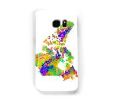 Canada Watercolor Map Samsung Galaxy Case/Skin