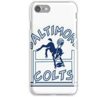 Baltimore Colts Football Throwback Logo iPhone Case/Skin