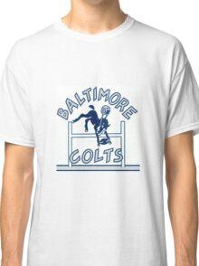 Baltimore Colts Football Throwback Logo Classic T-Shirt
