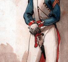 Napoleon Bonaparte 's Imperial Guard Sticker