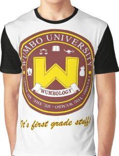 Wumbology Univiversity Graphic T-Shirt