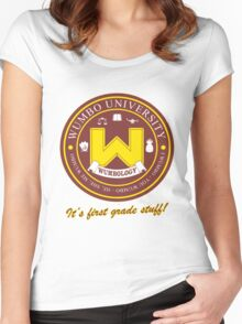 Wumbology Univiversity Women's Fitted Scoop T-Shirt