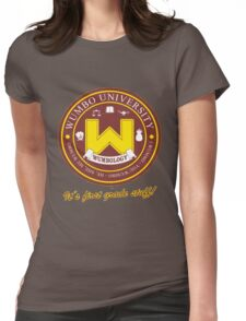 Wumbology Univiversity Womens Fitted T-Shirt