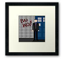 The Fantastic Ninth Doctor Framed Print