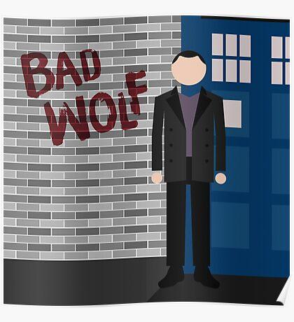 The Fantastic Ninth Doctor Poster