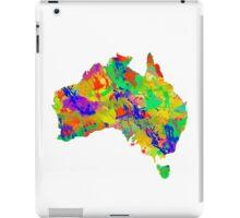 Australia Watercolor Map iPad Case/Skin