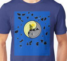 FLAT EARTH YIN YANG MAP Unisex T-Shirt