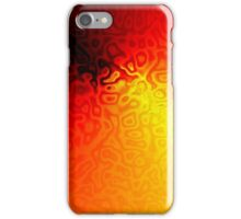 Red Dents iPhone Case/Skin