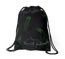 Toxic Jellyfish Drawstring Bag