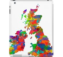 Great Britain Watercolor Map iPad Case/Skin