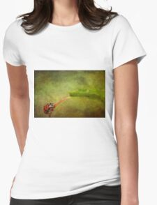 Looking for dinner Womens Fitted T-Shirt